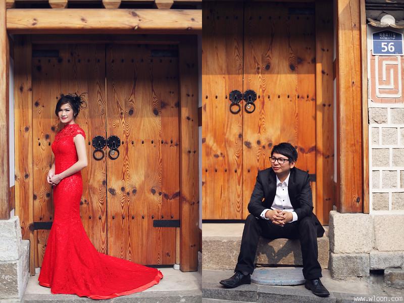 bukchon hanok village pre wedding