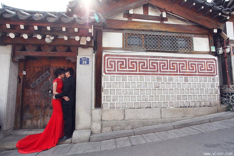 korea vintage pre wedding