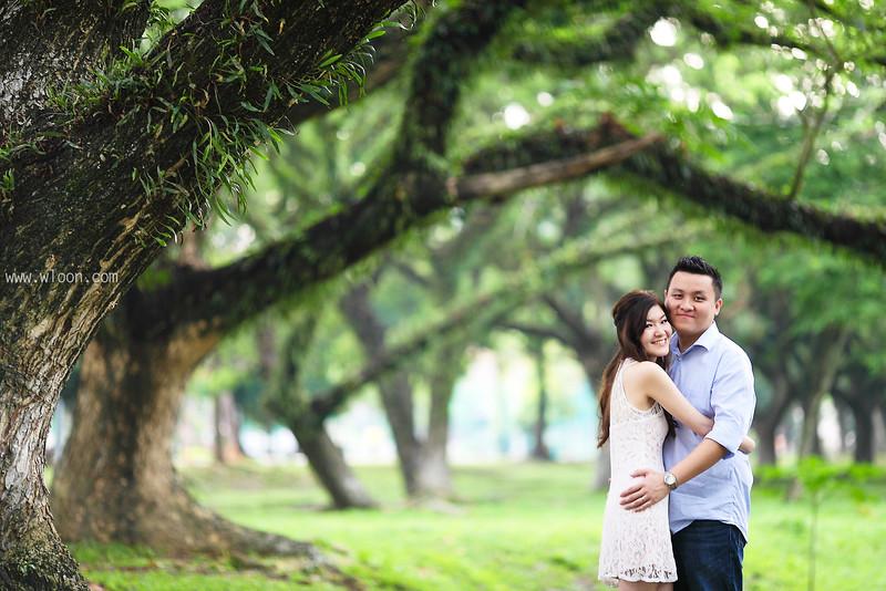 garden pre wedding