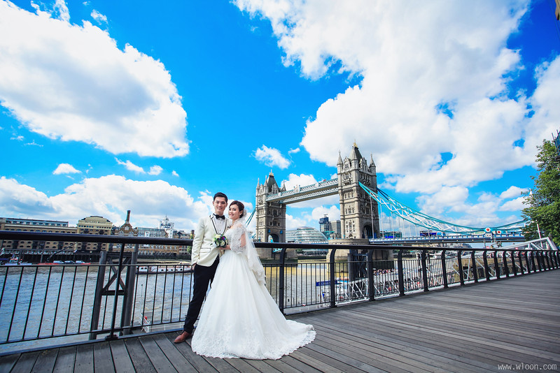 london tower bridge pre wedding