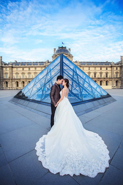 the louvre pre wedding