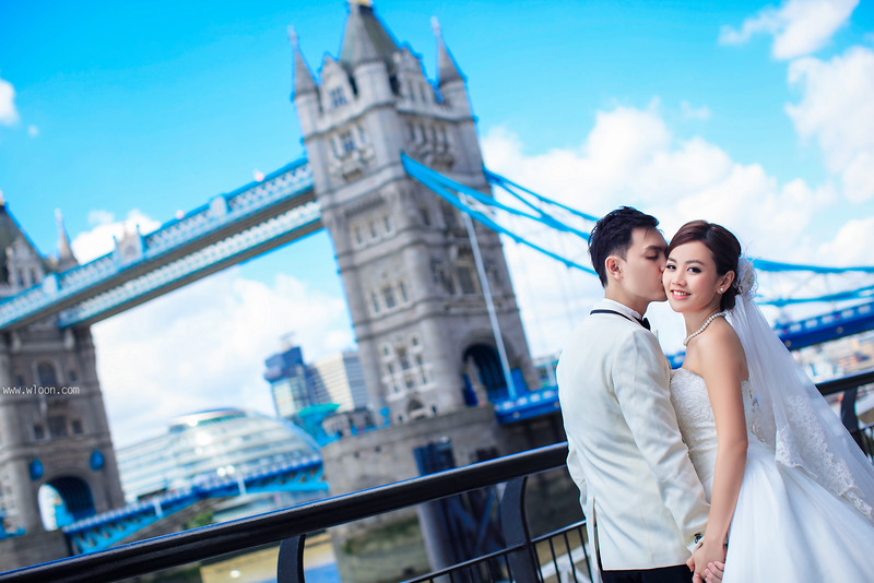 tower bridge pre wedding