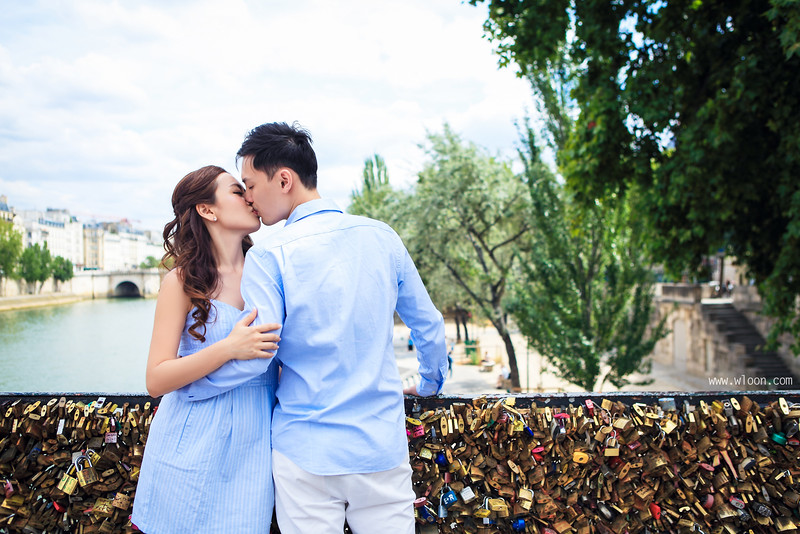 pont des art pre wedding