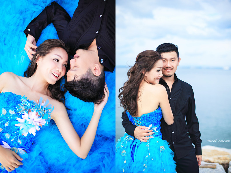 penang wedding gown rental