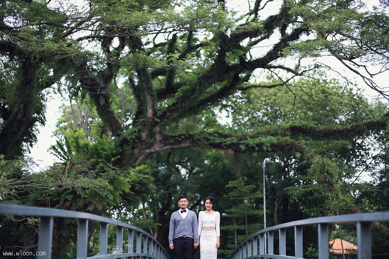 penang garden pre wedding