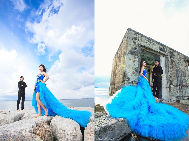 penang beach pre wedding