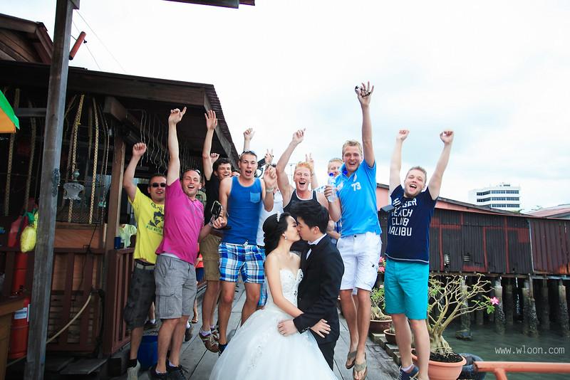 fun pre wedding