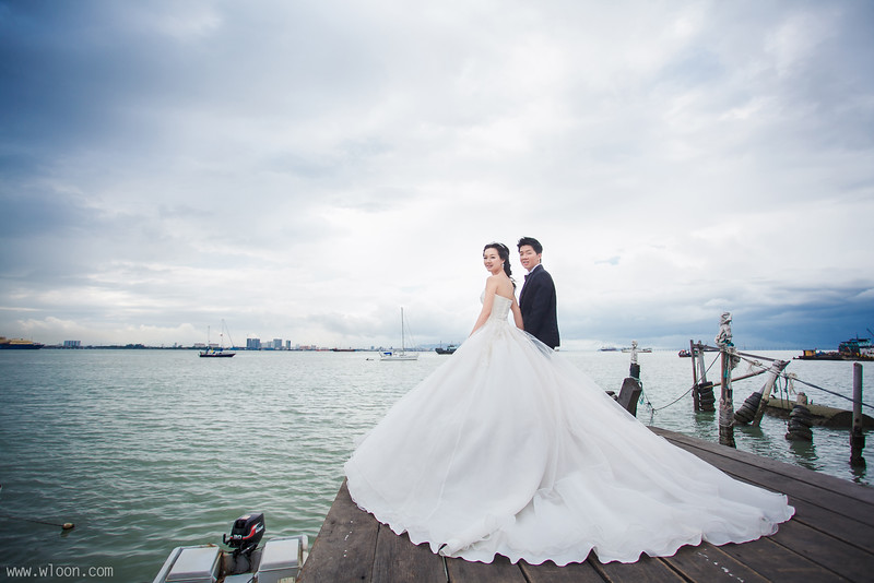 chew jetty pre wedding