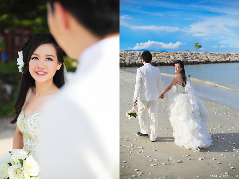 beach pre wedding