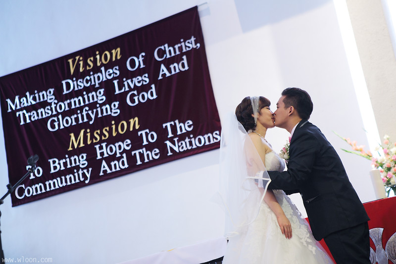 Singapore Church Wedding
