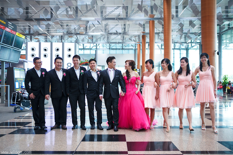 Singapore Changi Airport Wedding