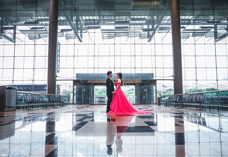 Changi Airport Wedding