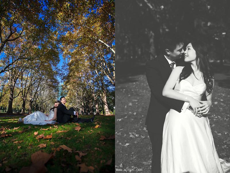 Carlton Garden Pre Wedding