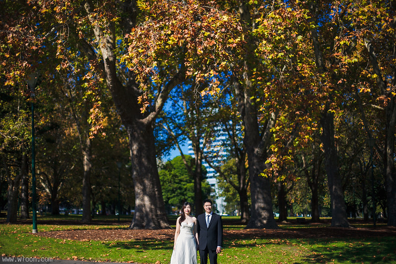 Melbourne Pre Wedding Carlton Garden