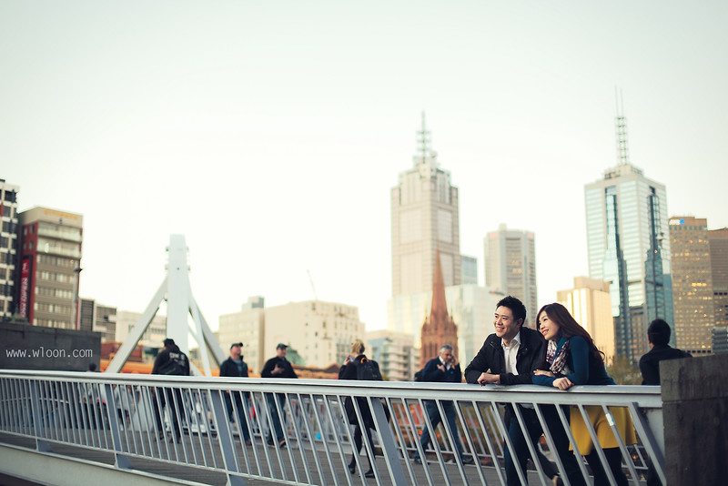 Melbourne Yarra Bridge Pre Wedding