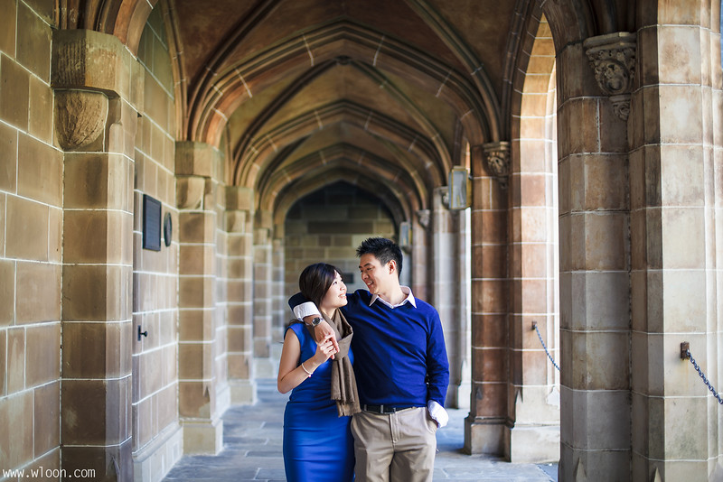 Melbourne University Pre Wedding