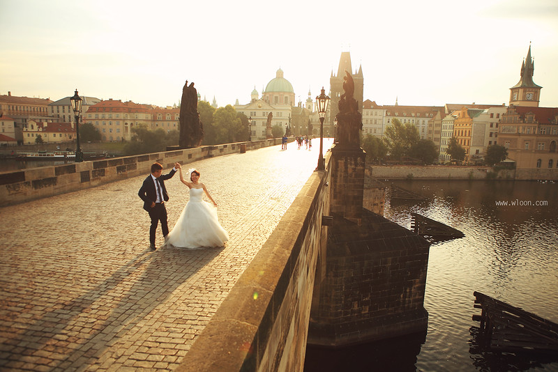 Prague Pre Wedding